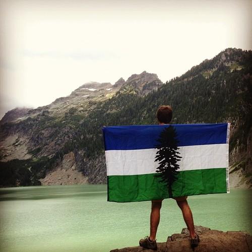 Cascadia-Doug-Flag-Camping