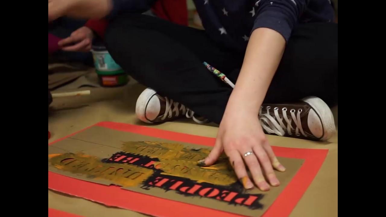 J19: Guerrilla Art School, a huge success! | Cascadia ...